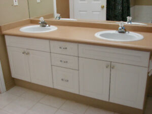 Bathroom Vanity with 2 Sinks
