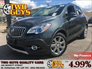 2016 Buick Encore PREMIUM| LEATHER | NAV | SUNROOF | FWD