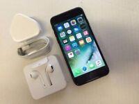 Apple iPhone 7 256GB, Jet Black, Factory Unlocked, +APPLE WARRANTY, NO OFFERS