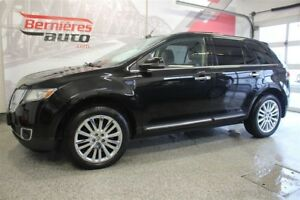2013 Lincoln MKX Limited Cuir+Toit+GPS AWD