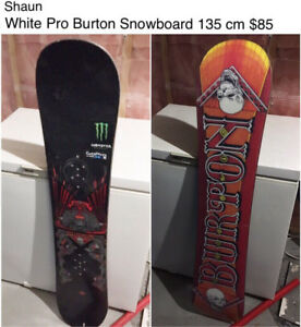 Snowboards and Gear