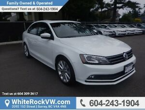 2015 Volkswagen Jetta 2.0 TDI Comfortline POWER MOONROOF, A/C...