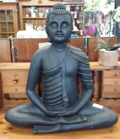 Heavy Giant Pot Ceramic Indian Buddha For Garden Conservatory or Home.