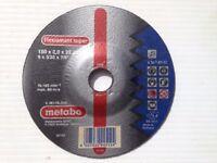 50 x Metabo Flexiamant super 150 x 2,0 x 22,23 mm Discs