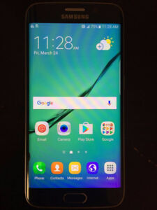 Samsung S6 Edge 32GB Locked Black