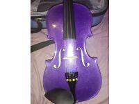 Purple childs violin