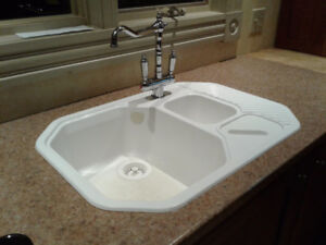 Blanco sink and counter top