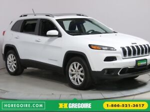 2015 Jeep Cherokee LIMITED A/C TOIT CUIR NAV MAGS