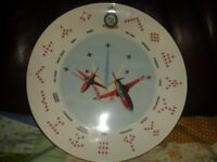 Red arrows plate and a copy from the 1980