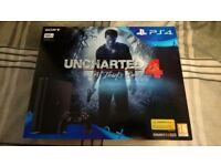 New + Sealed PS4 Slim 500GB + 2 Games