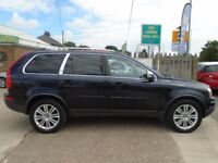VOLVO XC90 2.4 D5 Executive Estate Geartronic 4X4 5dr Auto (blue) 2011