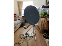 caravan satellite dish mint condition