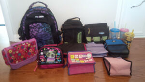 Back pack, Bag, Lunch Boxes