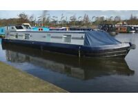 Wide Beam 50ft Cruising Houseboat 2 Bedrooms, Wheel Steering, 4 berths, Garstang Marina