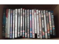 JOB LOT OF DVD FILMS/DVD/TV/FILMS