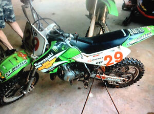 Two bikes for sale or trade. KX85 & KX65, great shape.