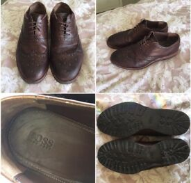 Men's Hugo boss leather shoes