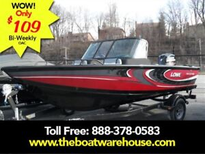 2017 lowe boats FS 1610 Merc 90HP Trailer Fish Finder Stereo