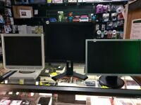 PC MONITORS (SAMSUNG/HP/DELL ETC) - STARTING FROM £30