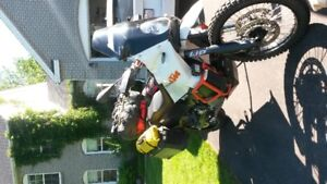 2011 KTM 990 with all gear