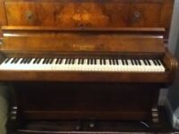 D'Almaine & Co Piano, Iron Frame for Quick Sale