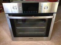 Samsung single electric oven with dual fans