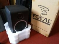 Focal CMS 40 (pair) Adam Hall heavy duty speaker stand (pair), accessories.