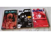 Manga Tsutomu Nihei's - Blame Volume 1-3.