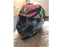 Agv k3 Valentino Rossi helmet