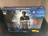 Brand New Sony PlayStation 4 Slim 500GB Console with Uncharted 4 Bundle