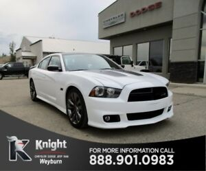 2014 Dodge Charger SRT8 Super Bee Leather/Suede Low Kms Bluetoot