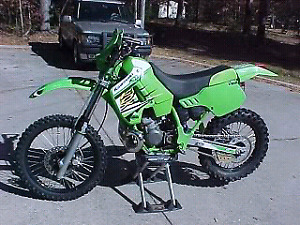 LOOKING for parts bike kdx 200 1992