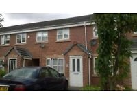 Three Bedroom Unfurnished, Town house, situated in a lovely quiet cul-de-sac on Mystery Close,