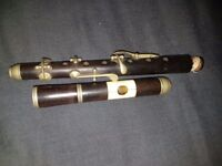 Antique wooden piccolo/fife/flute