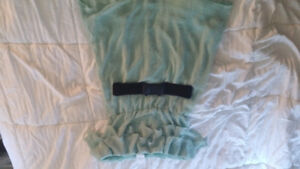 Mint Colored Dress with belt