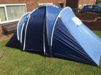 RoyalBeach Jesolo 4. 4 Man Tent. 2 bedroom. 2000 Head. Good Clean Condition