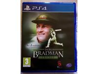 PS4 Don Bradman Cricket game (in excellent condition) - the best cricket game on PS4