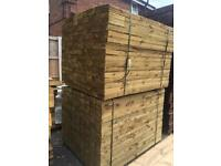 🌻Pressure Treated Wooden Fencing Pieces/ Panels/ Boards