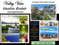 Valley Vista Vacation Rentals -Furnished Townhouses in Penticton