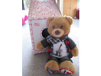 BABW I Love One D bear ( says what's your name?) + box-£4