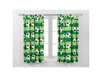 Football Curtains From Asda/George W66 L54