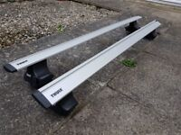 Thule aero roof wing bars and feet, taken off a 2010 ford mondeo
