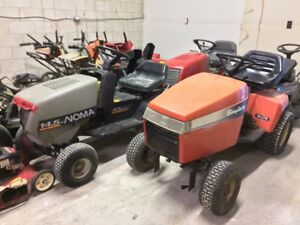 lawn mower rototiller lawn tractor snowblower