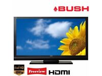 """Bush 40"""" inch Full HD 1080p LCD TV with Freeview Built-in, 2 x HDMI not Samsung LG 37 40 46"""