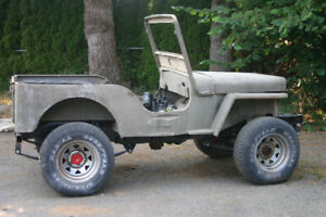 WILLYS CJ3A PROJECT