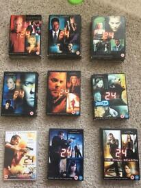 24 seasons 1 to 8 plus Redemption