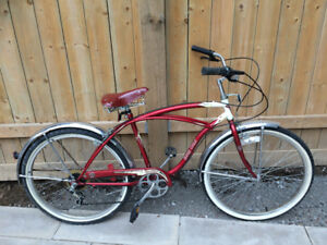 Super cycle classic cruiser 6 speed