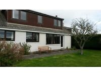 4 Bed house available for 6 month rent in Fortrose, Black Isle; available Sep - £700pcm plus bills