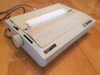 Vintage matrix printer