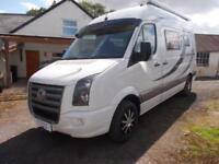 Volkswagen CRAFTER CR35 109 MWB 2 berth end kitchen separate washroom TV DVD